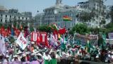 Más de 10 mil personas marcharon por las calles de Lima en defensa de la Madre Tierra